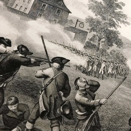 """Battle of Lexington 1775"" Print from The History List Store"