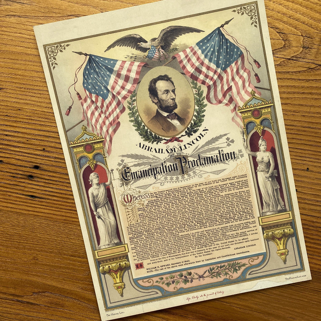 Emancipation Proclamation Small Print
