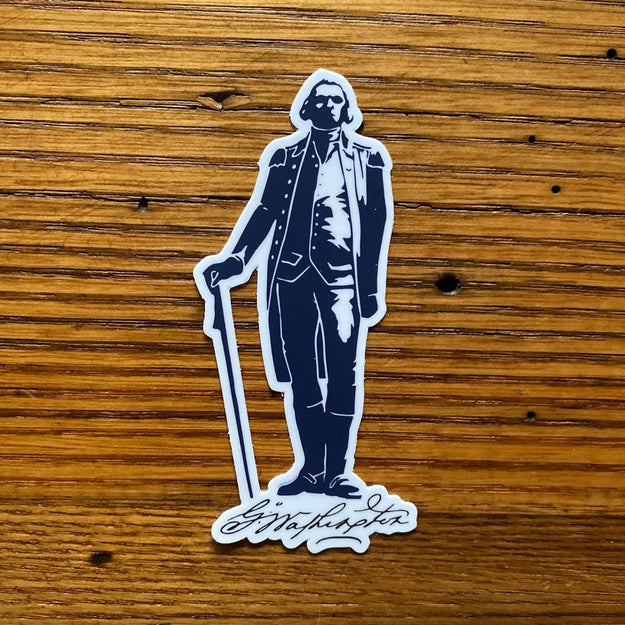 "George Washington ""Signature Series"" Sticker from The History List Store"
