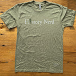 """History Nerd"" shirt with WWII Soldier"