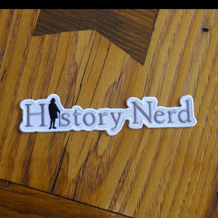 """History Nerd"" Patch with Ben Franklin from The History List Store"