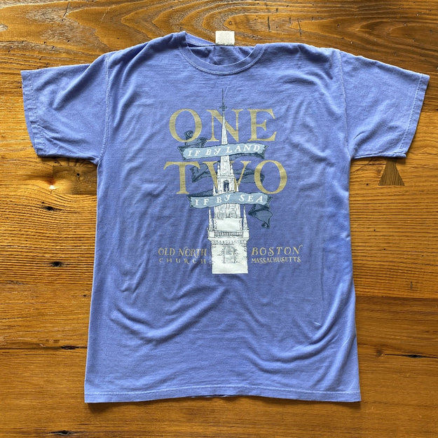 """One if by land . . ."" Old North Special Edition Shirt"