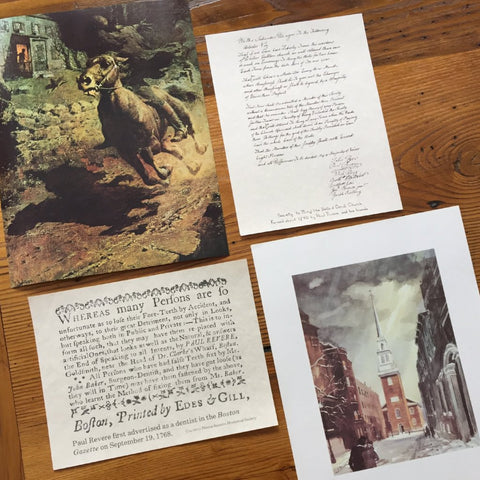 Old North Church print bundle