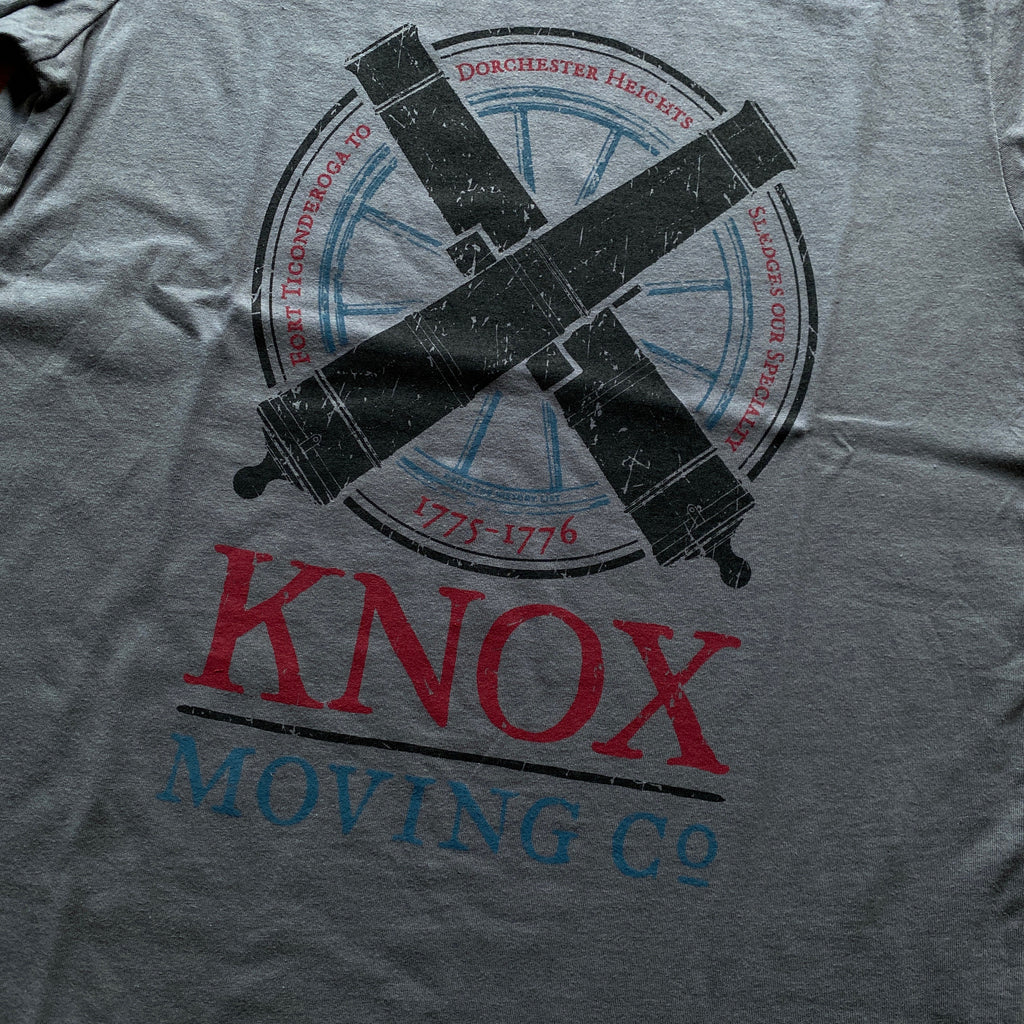 """Knox Moving Co."" Shirt Long-sleeved shirt"