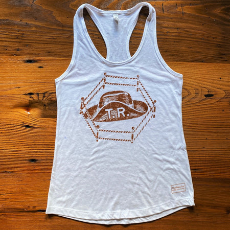 "Teddy Roosevelt ""Hat in the ring"" presidential campaign Shirt and Tank top for women- Very limited"