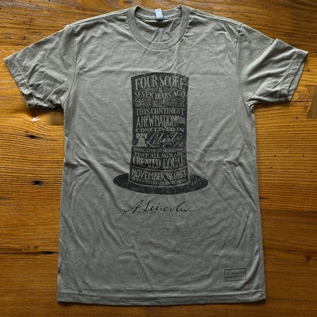 Lincoln's Gettysburg Address and Stovepipe Hat Shirt