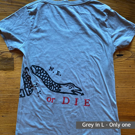 """Join or Die"" Shirt - In one of a kind colors and styles"