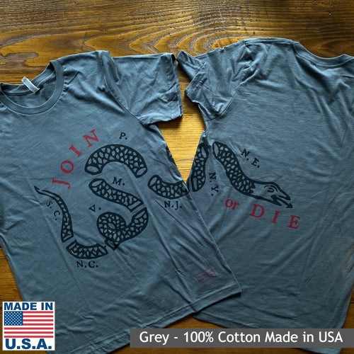 """Join or Die"" Shirt"