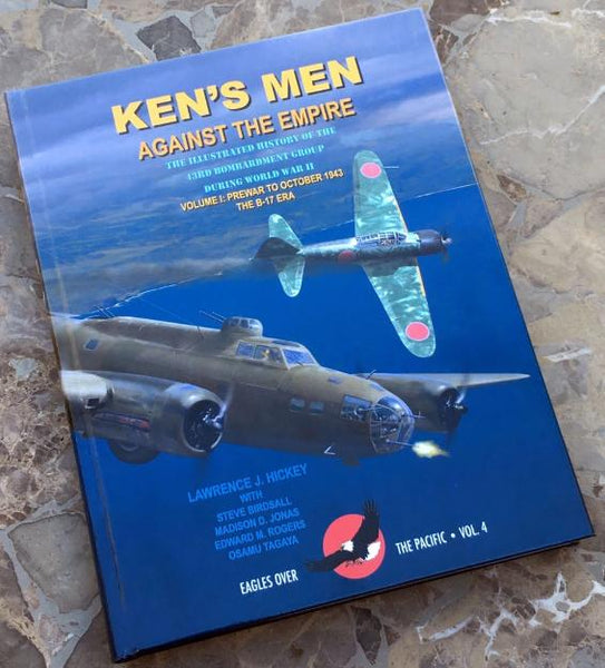 """Ken's Men Against the Empire"" - Signed by the Author, Lawrence J. Hickey"