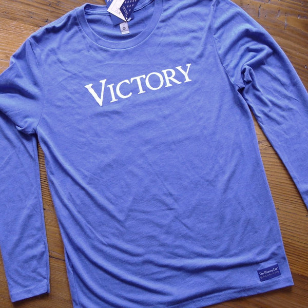 """Victory"" long-sleeved shirt - Limited run for hardcore history folks"