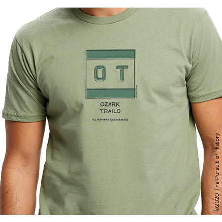 """America's Highway Pole Markers Series: Ozark Trails"" Shirt"
