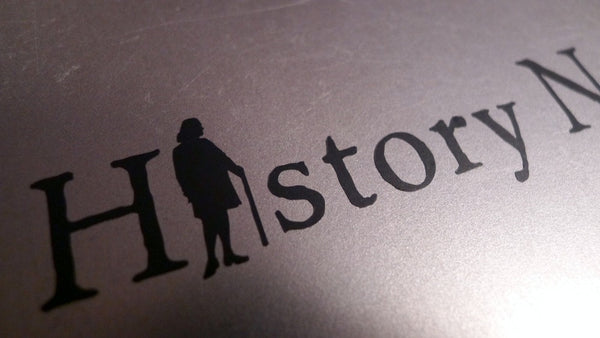 History Nerd transfer sticker with Ben Franklin The History List