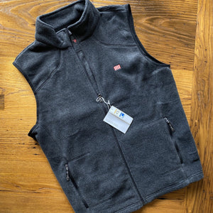 """Sons of Liberty"" 1776 Fleece vest - Dark grey - Only one"