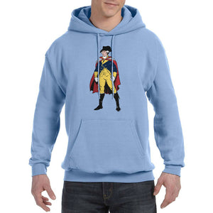 """Revolutionary Superheroes - George Washington"" Hooded sweatshirt"