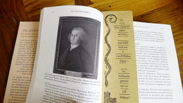 Revolutionary Bookmark: Massachusetts Spy from The History List Store