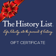 The History List Store Gift Certificate