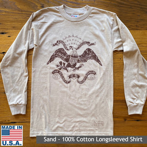 "Teddy Roosevelt ""Rough Riders"" Long-sleeved shirt"
