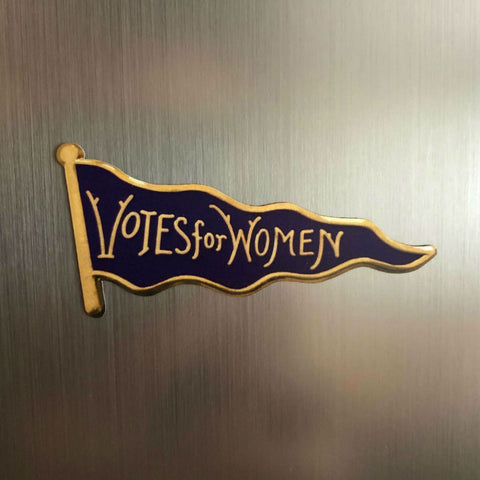 """Votes for Women"" Magnet - Purple from The History List Store"