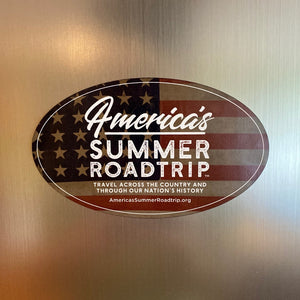 America's Summer Roadtrip 2020 Magnet