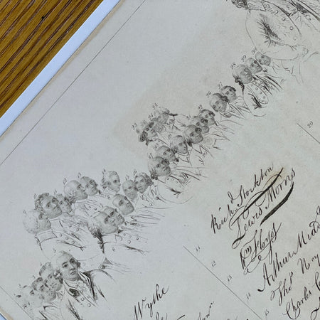 """The Signers of the Declaration of the Independence and their signatures"""