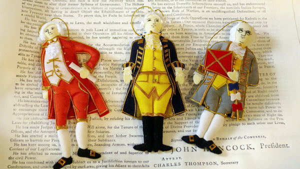 Fabric Ornaments from The History List Store