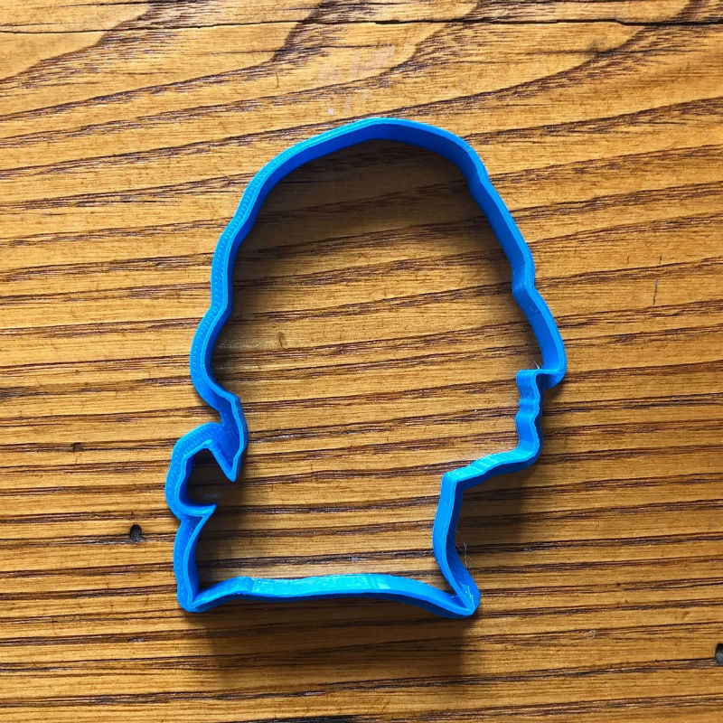 George Washington Cookie cutter from The History List Store