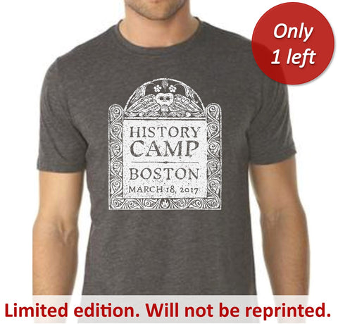 History Camp Boston 2017 T-shirt