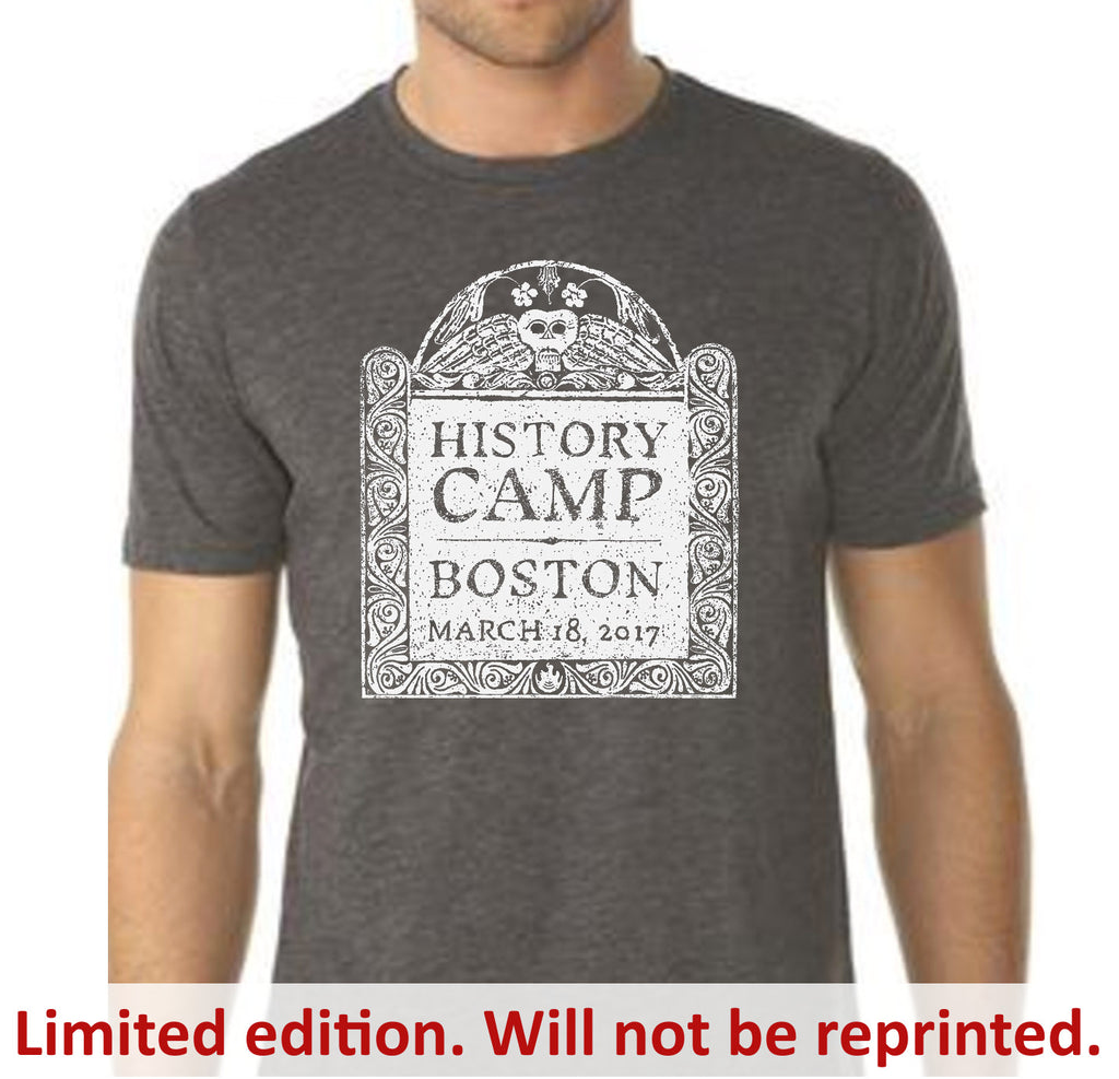 History Camp Boston 2017 T-shirt from The History List Store