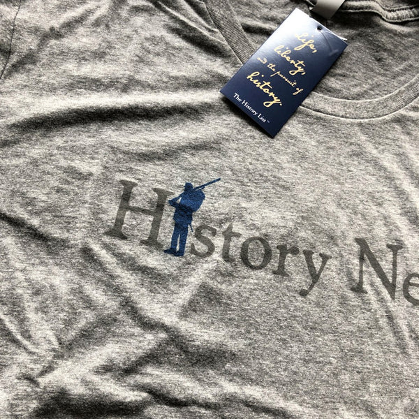 "Civil War ""History Nerd"" long-sleeved shirt - Only one - Heather Grey from The History List Store"