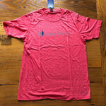 "Z-ARCHIVED ""History Nerd"" shirt with Ben Franklin - Light red heather from The History List Store"