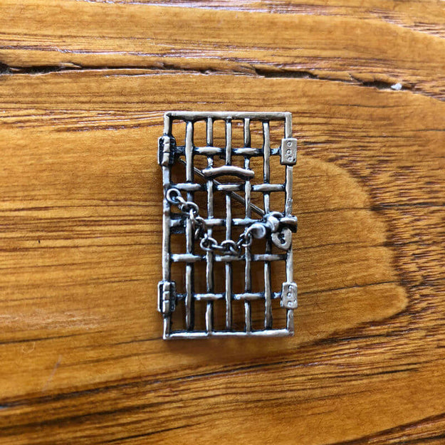 """Jailed For Freedom"" Pin from The History List Store"