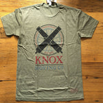 """Knox Moving Co."" Shirt - Military Green from The History List Store"