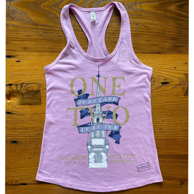 """One if by land . . ."" Old North Special Edition Tank top for women"