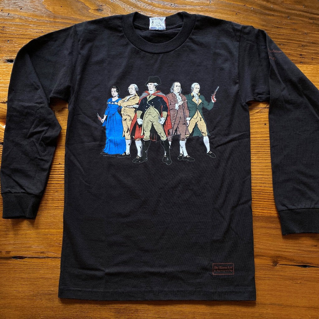 """Revolutionary Superheroes"" Long-sleeved shirt"