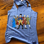 """Revolutionary Superheroes"" Tank top - Light blue heather from The History List Store"