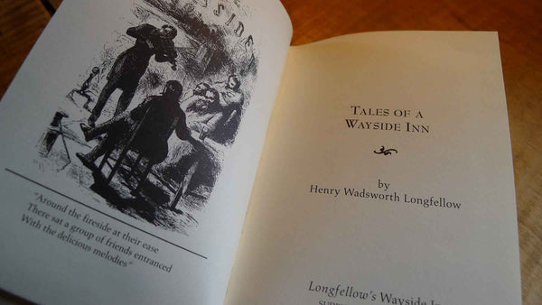 """Tales of a Wayside Inn"" - by Henry Wadsworth Longfellow from The History List Store"