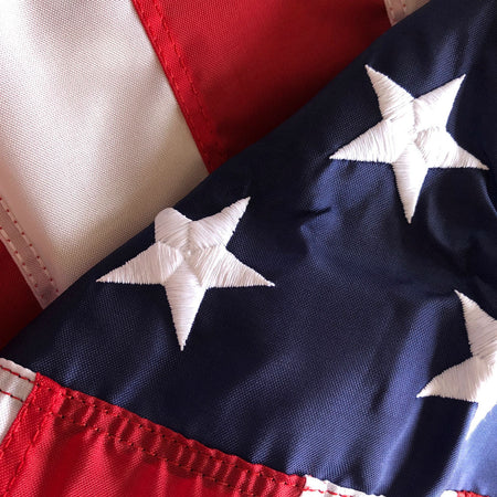 American Flag flown over Historic Lexington Battle Green from The History List Store