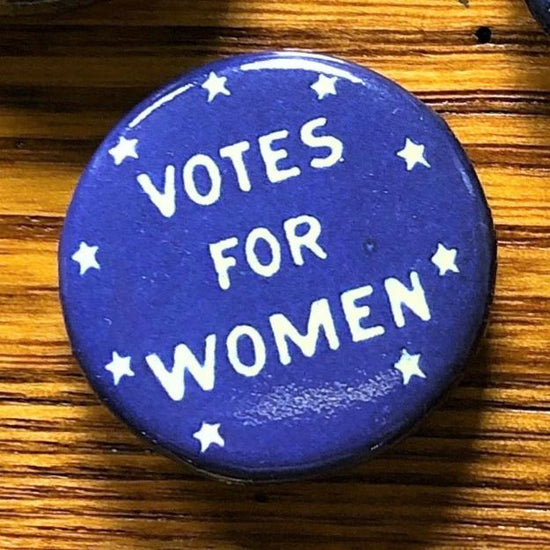 Blue Votes For Women Button Pin Suffrage Buttons And Pins
