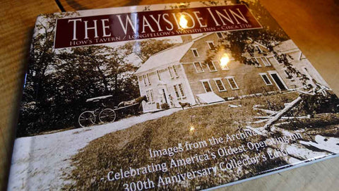 The Wayside Inn 300th Anniversary Collector's Edition book from The History List Store