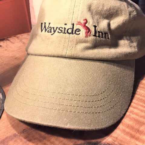 The Wayside Inn Cap - Khaki from The History List Store