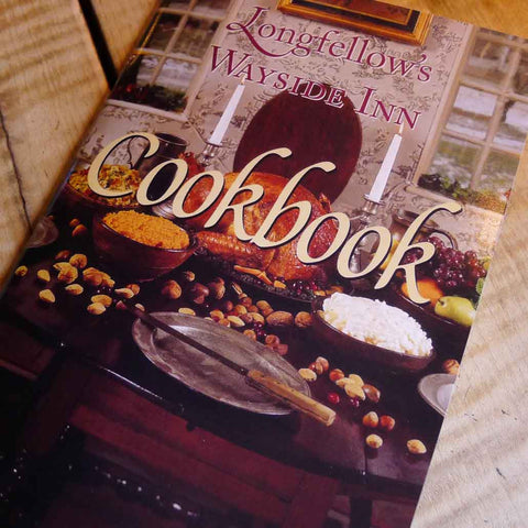 Wayside Inn cookbook from The History List Store