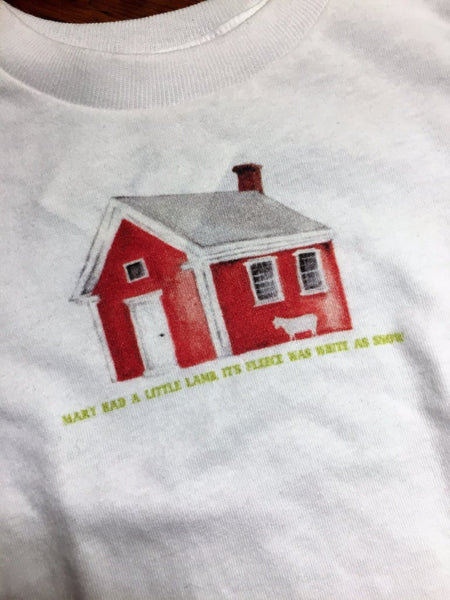 The Redstone Schoolhouse T-shirt for kids from The History List Store