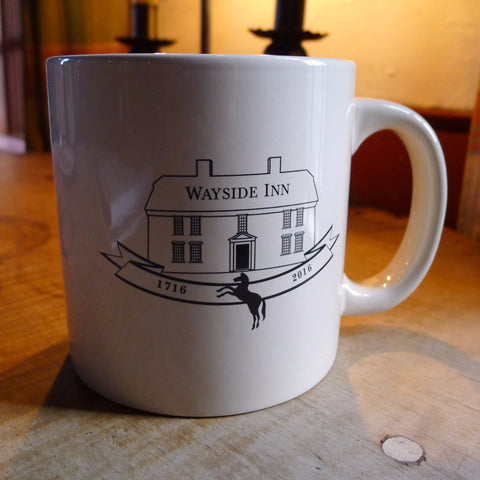 Wayside Inn 300th Anniversary mug - limited edition from The History List Store