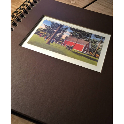 The Redstone Schoolhouse Sketchbook from The History List Store