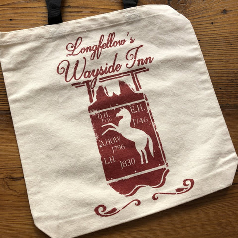 Longfellow's Wayside Inn tote bag from The History List Store