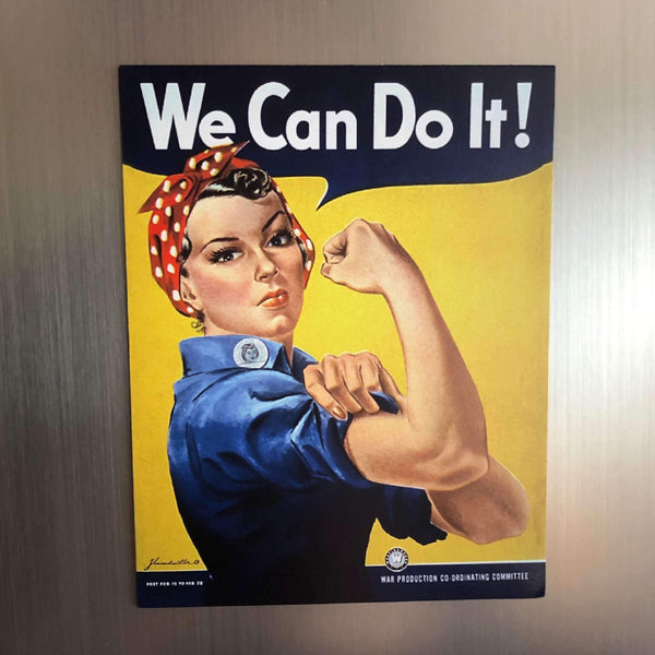 """We Can Do It!"" Magnet from The History List Store"