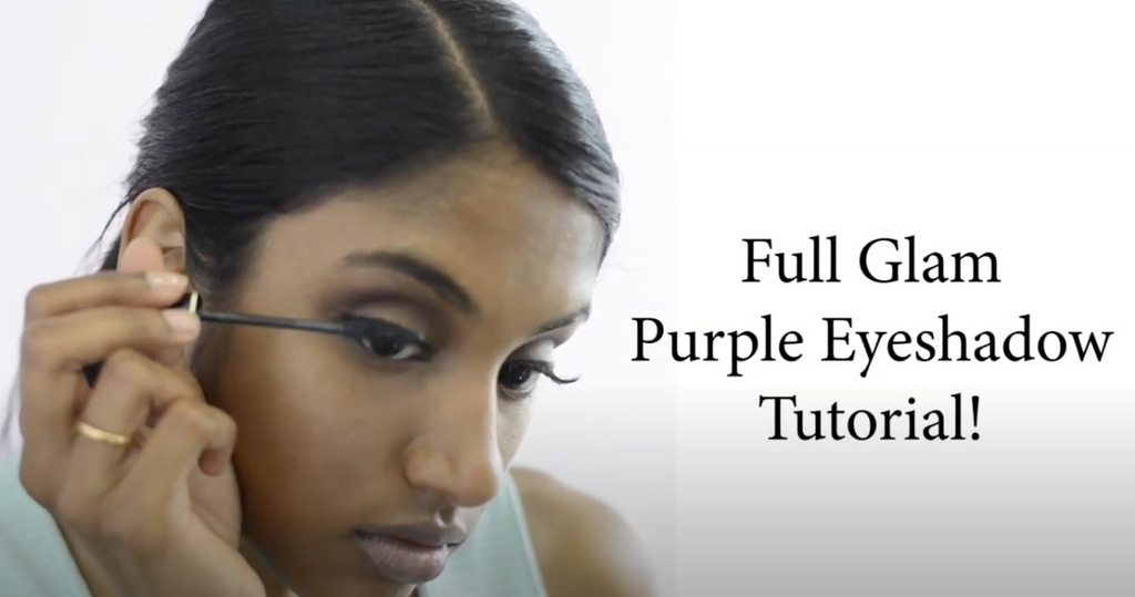 Beginner Purple Eyeshadow Tutorial