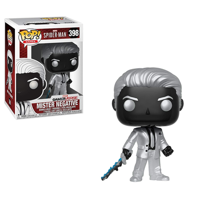 Funko Pop Marvel Games Spider-Man Mister Negative Figure - Integral 3 Collectibles