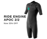 Ride Engine Apoc Shorty 2/2 wetsuit