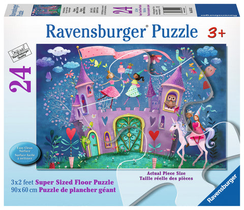 RAVENSBURGER - THE BRILLIANT BIRTHDAY SUPER SIZED 24PC PUZZLE